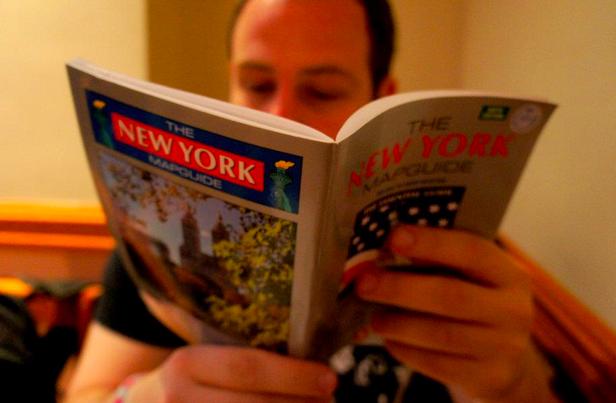 I like maps and lists and tour books.