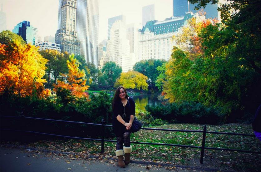 NYC autumn central park