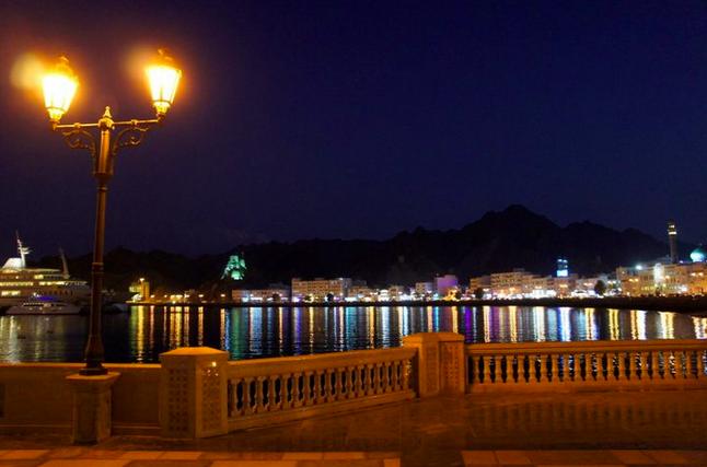 The Oman UAE Night time