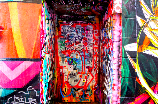 Street art graffiti melbourne