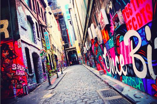 Street art graffiti melbourne