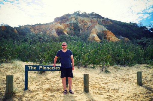 Fraser Island reveiw blogger photos