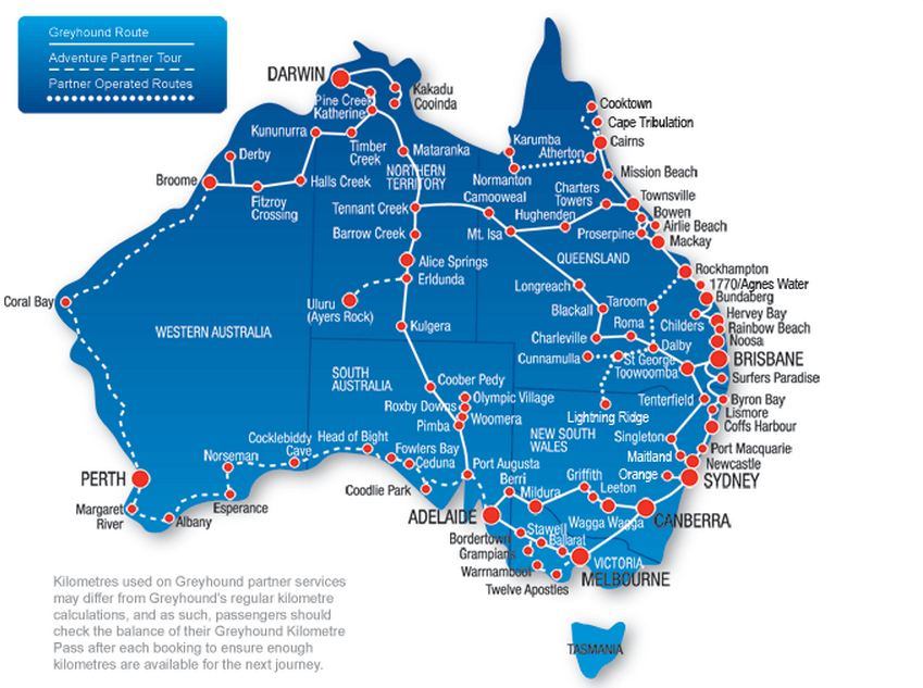 Greyhound Australia Review - A Backpackers Best Friend. - The World ...