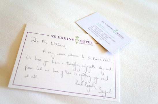 St Ermins Hotel London Review