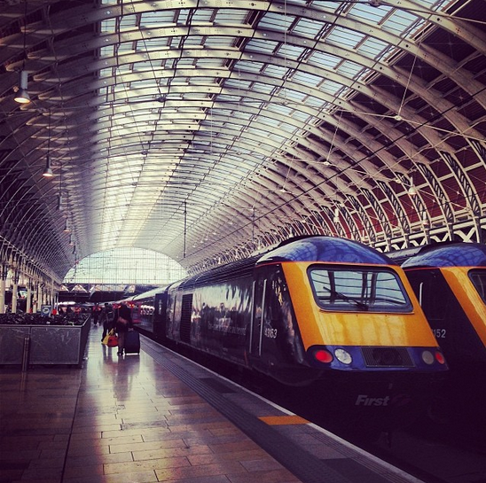 paddington train station london