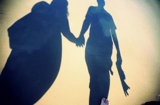 My hand-holding partner.