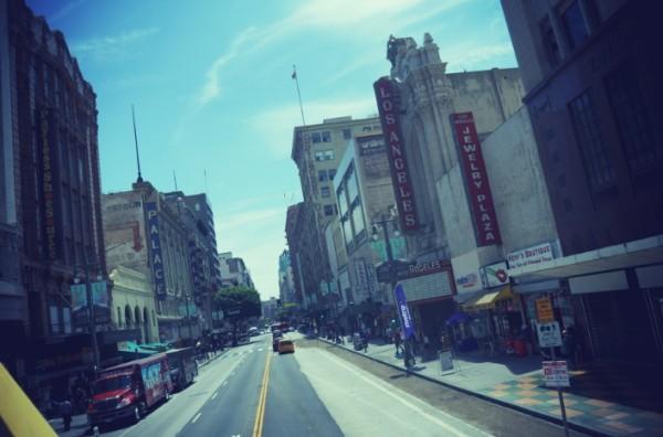 Los Angeles city centre