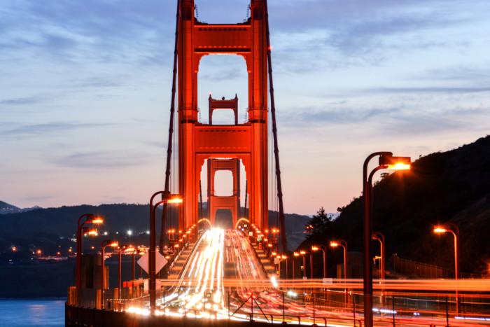 best view of Golden Gate Bridge SF