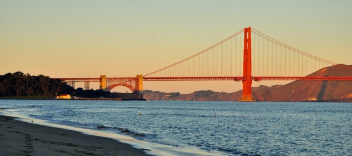 the best view of golden gate bridge