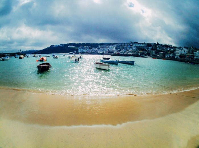 st ives cornwall beach