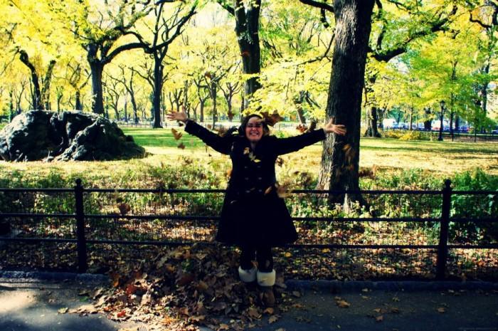 Central park autumn photo