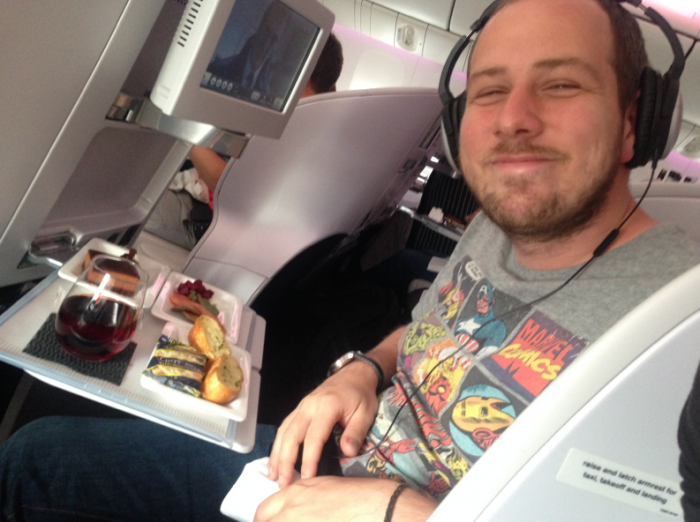 air new zealand space seat review