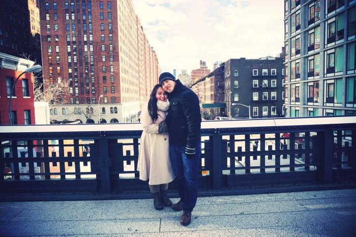 The High Line Park New York