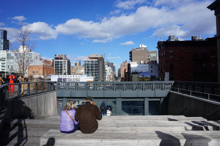 The High Line Park New York