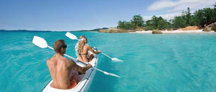 Hamilton island kayaking