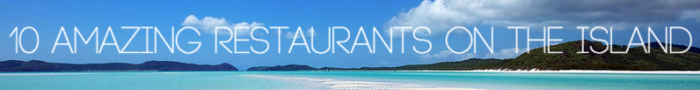 restaurants on hamilton island