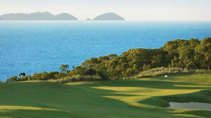 golf on hamilton island