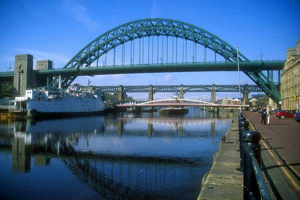 tyne Bridge Quayside Day