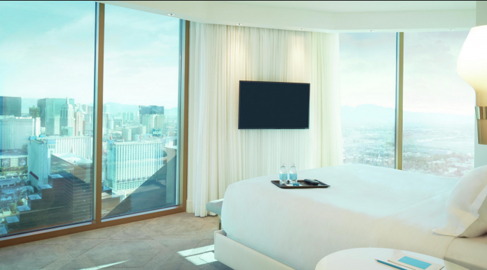 romantic hotel rooms in las vegas