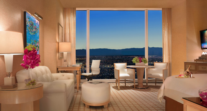 romantic hotels in las vegas