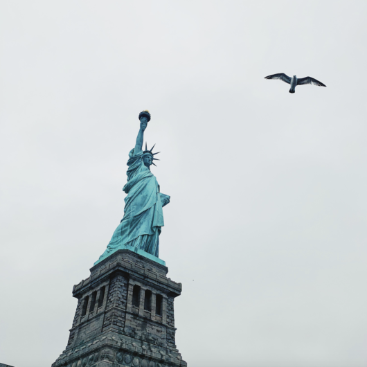 views of statue of liberty