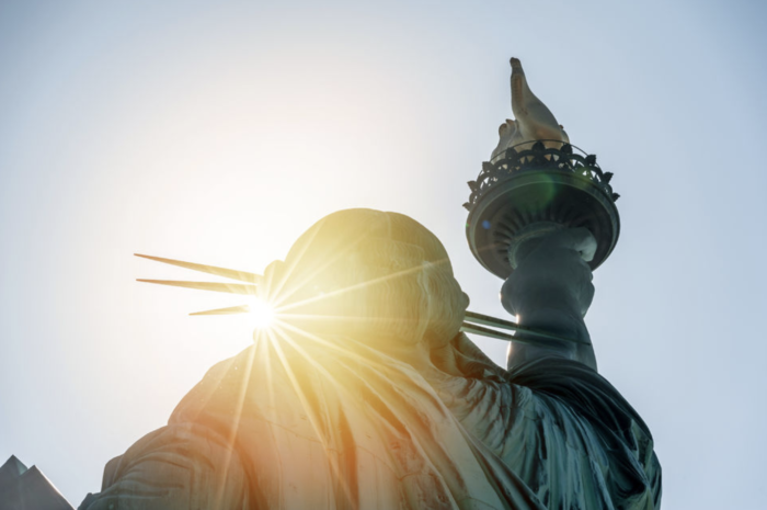 best places to see the statue of liberty