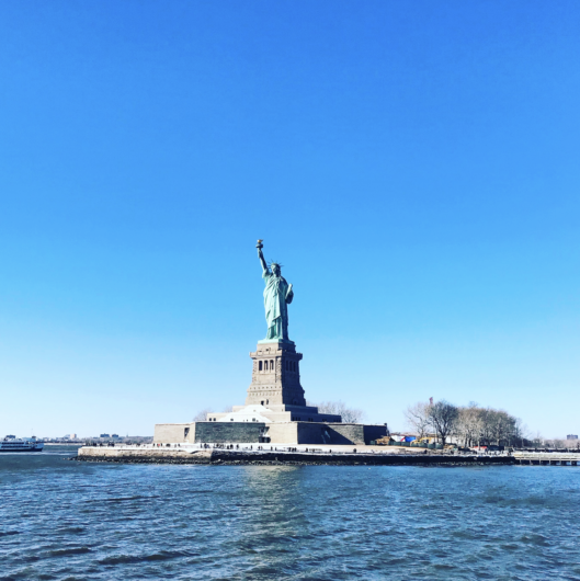 best places to view the statue of liberty
