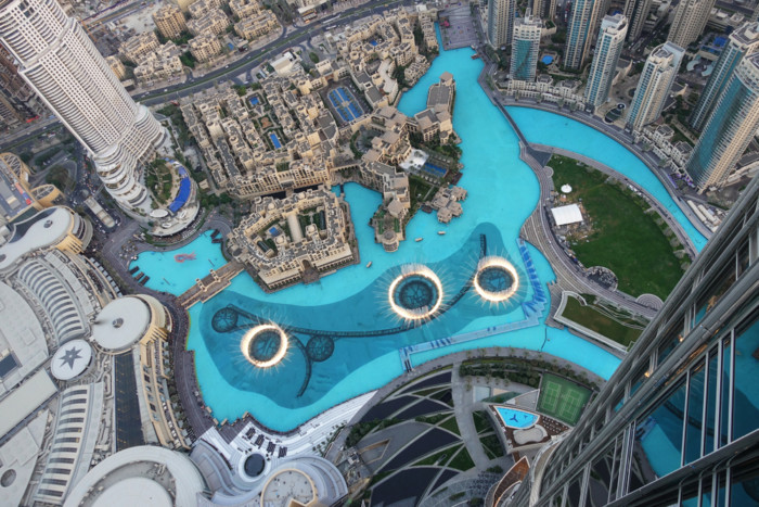 best places to watch the dubai fountains q1