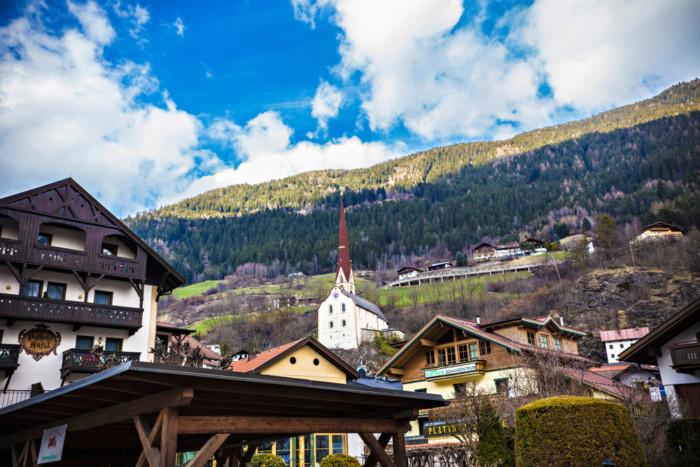 Austrian alps in Summer