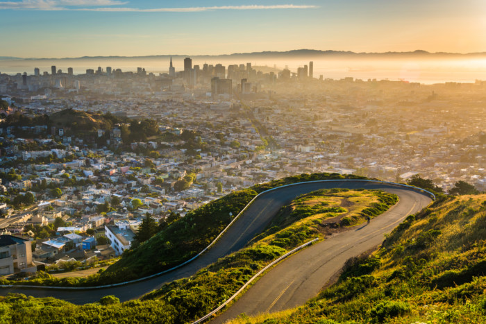 Most scenic places in San Francisco 1