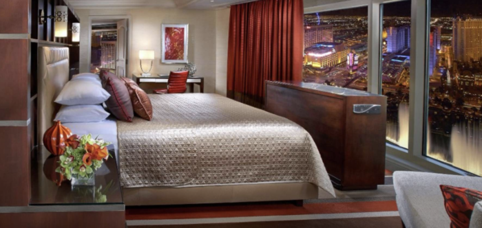 romantic hotel suites in Las Vegas