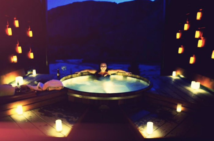 Things to do in Queenstown When Pregnant onsen