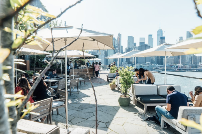 best outdoor rooftop bars in nyc