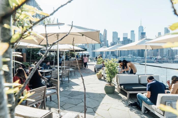 best outdoor rooftop bars in nyc
