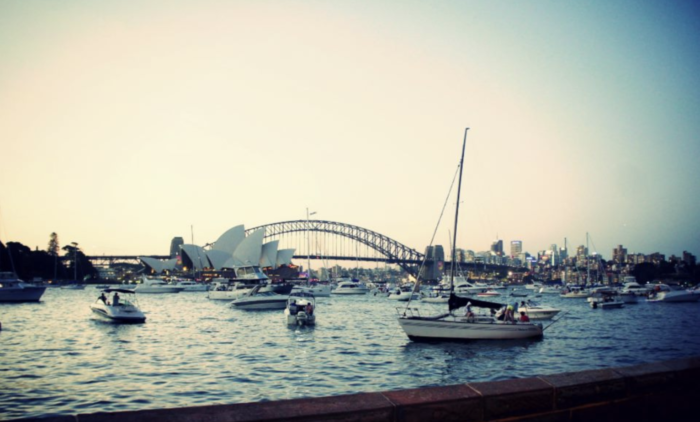 best place to view sydney opera house