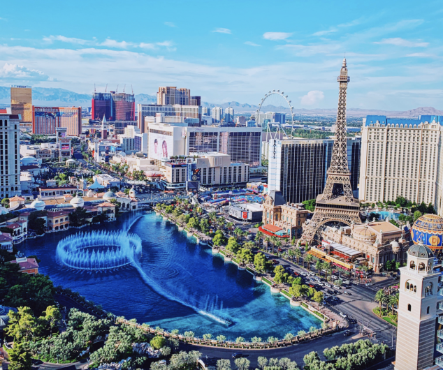 best places to view the bellagio fountains