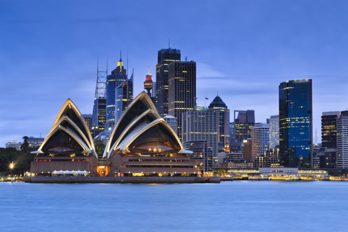 best places to see sydney opera house