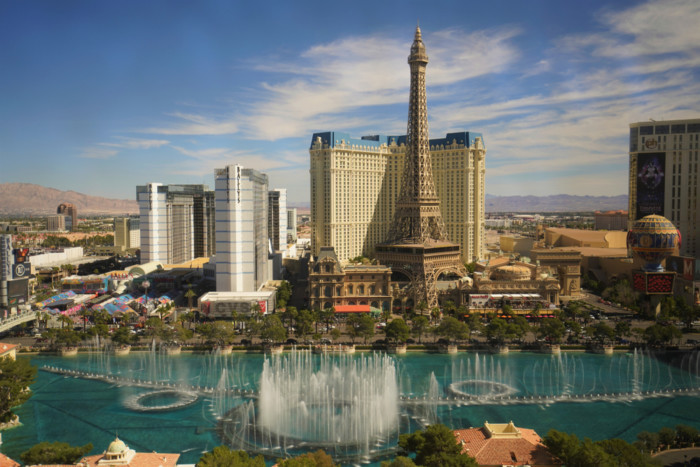 best places to view bellagio fountains