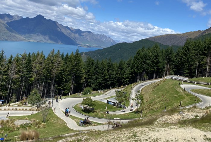 everything you need to know about the Queenstown luge go carts