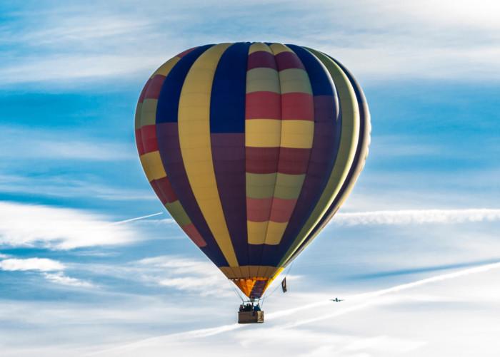 hot air balloon romantic engagement ideas las vegas