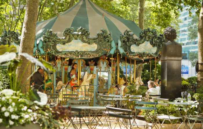 list of carousels in nyc
