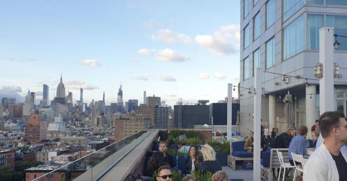 outdoor rooftop bars in NYC 2020