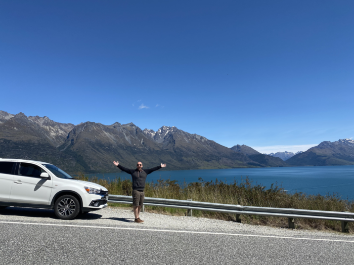 scenic Driving from queenstown to glenorchy