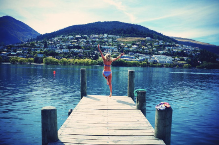swimming spots in Queenstown