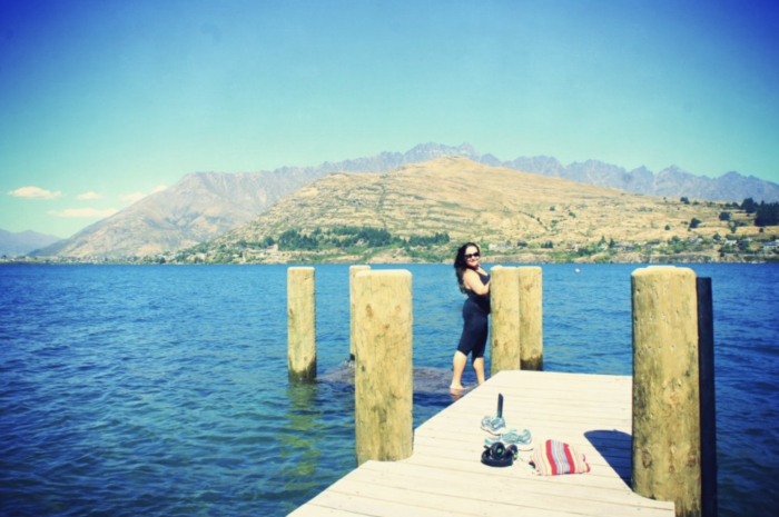 swimming spots in Queenstown..