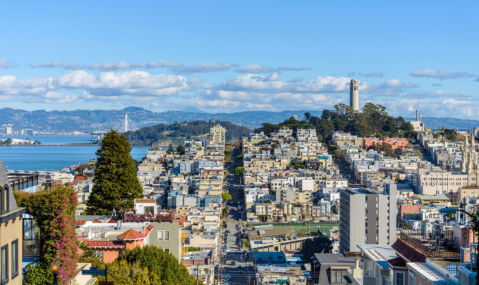 the Most scenic places in San Francisco