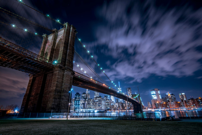 the best places to take pictures in NYC at night 2020