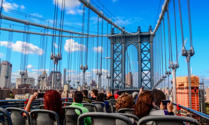 Hop on Hop off New York bus tour