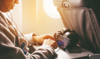 Ways to pass time on a long haul flight