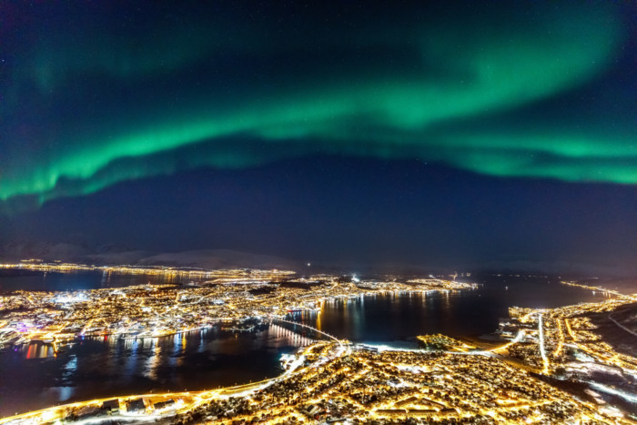 best place to see Aurora Borealis.